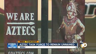 Aztec task force to remain unnamed - Video