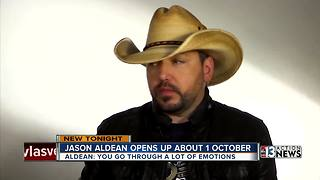 Jason Aldean opens up about 1 October shooting - Video