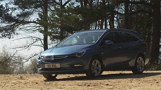 2016 Vauxhall Astra sport tourer review - Video