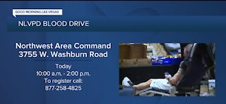 NLVPD hosts blood drive today