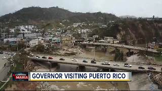 Governor Scott plans to visit Puerto Rico in the wake of Hurricane Maria - Video