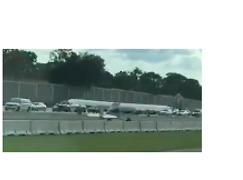Small Plane Makes Emergency Landing on Interstate 4 in Florida - Video