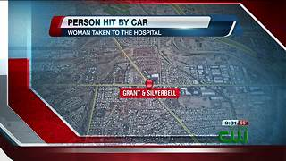 Woman hit by car on the westside - Video