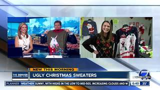 Make your own ugly Christmas sweater - Video