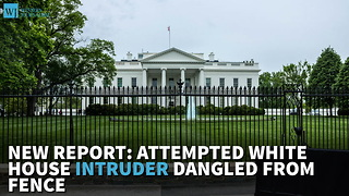 New Report: Attempted White House Intruder Dangled From Fence - Video