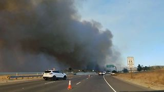 Canyon Fire 2 Burns Near Orange County Highways - Video