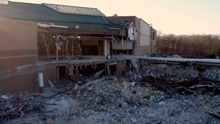 Demolition of 56-Year-Old Mall Leaves Behind Spooky Remnants - Video