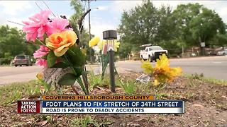 34th Street to see safety improvements following deadly crashes - Video