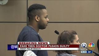 Fake teen doctor pleads guilty to multiple charges - Video