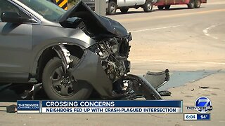 Neighbors demand changes after two fatal crashes at an Aurora intersection