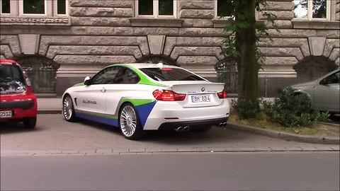 Stunning BMW Alpina B4 spotted in Dusseldorf