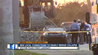 First lawsuit filed in deadly bridge collapse - Video