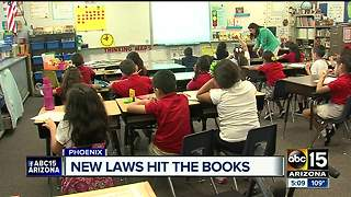 More than 100 new laws take effect Wednesday - Video