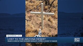 Search and rescue finds deceased migrants, offers closure to families
