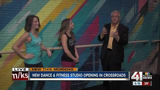 From Chiefs cheer to Crossroads fitness, new dance studio opens in KC - Video