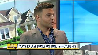 Home Improvements While Saving Money - Video