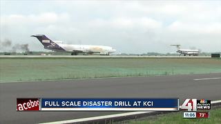 KCI conducts full-scale disaster drill - Video