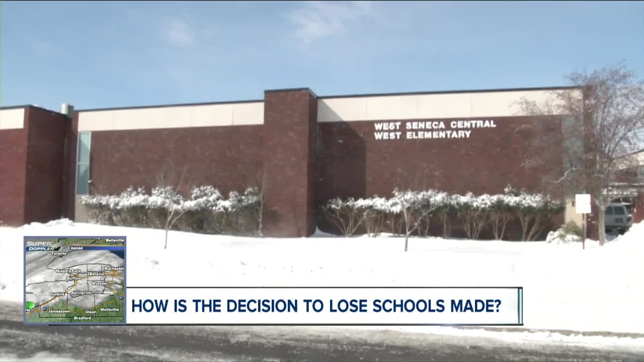 How do districts determine whether school will get cancelled?