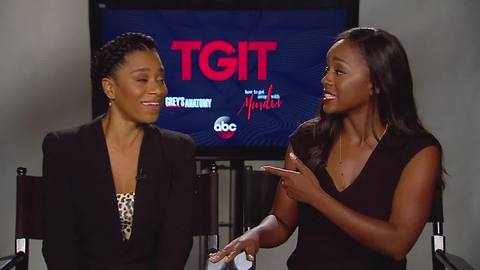 Aja Naomi King on shooting emotional scenes in 'How to Get Away with Murder' | Hot Topics
