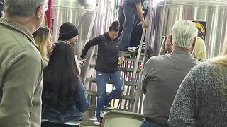 Big Dog's Brewing teaches guests how to make craft beer - Video