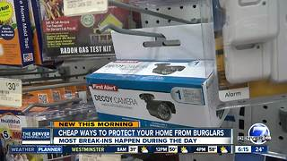 Inexpensive ways to protect your home from break-ins during the holidays - Video