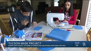 Tucson Mask Project helping the community