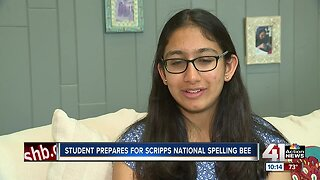 Sixth-grader relies on preparation for Scripps Spelling Bee