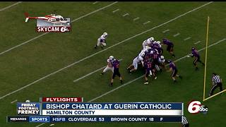HIGHLIGHTS: Bishop Chatard 35, Guerin 7 - Video
