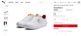 In-N-Out Burger sues Puma over 'Drive Thru' sneakers