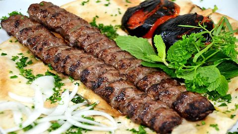 How To Make & Skewer Persian Koobideh Kabab