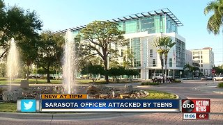 Off-duty Sarasota Police Officer assaulted by group of teens