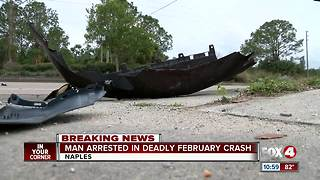teen arrested in connection with deadly crash - Video