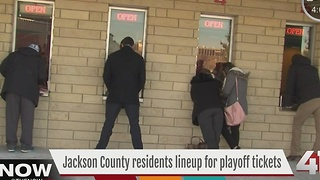 Chiefs playoff tickets on sale for Jackson Co. - Video