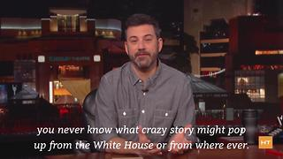 Host Jimmy Kimmel says there's a good chance you'll see political jokes on Oscar night | Hot Topics - Video