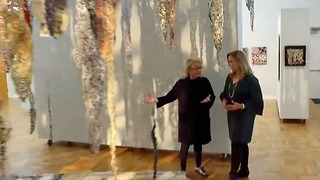 Textile Meditations exhibit features activist/author Mary Fisher and friends - Video