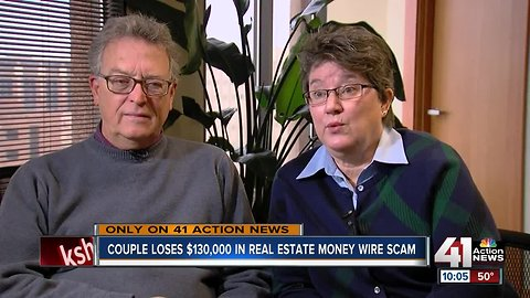 Couple out $130K in real estate money wire scam