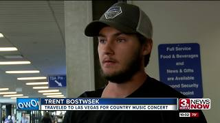 Las Vegas shooting: Nebraskans return home - Video