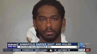 Bond denied for man accused of killing Annapolis rapper