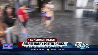 Starbucks' secret menu for Harry Potter fans - Video