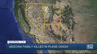 3 people from Arizona killed in Nevada plane crash