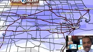 Tracking weekend snow - Video