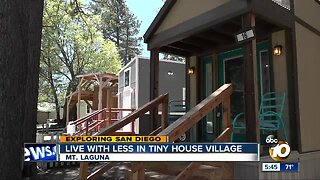 Exploring San Diego: Live with less in tiny house village