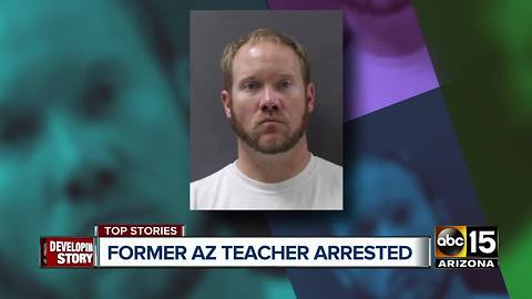 Former Salome teacher arrested, accused of sexual conduct with student