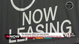 If Amazon's new headquarters come to KC, rent prices could potentially rise - Video
