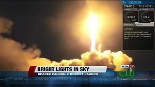 Tucsonans see bright lights in sky - Video