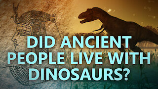 Did ancient people live with dinosaurs?