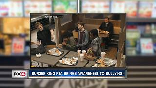 Burger King PSA raises awareness for bullying - Video