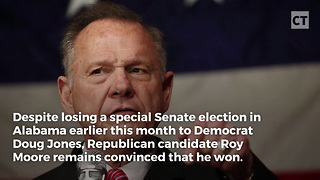 Roy Moore Takes New Tack to Prove Innocence - Video