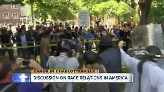 A discussion on race relations in America - Video
