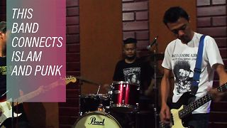 The punk band spreading the word of Islam in Indonesia - Video
